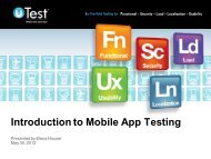 Introduction to Mobile App Testing