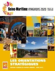 leS orientationS StratéGiqueS - Département de Seine-Maritime
