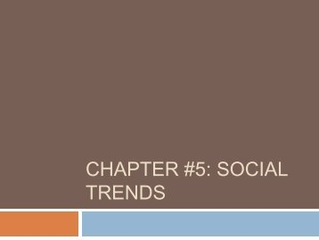 Chapter #5 Social trends.pdf