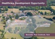 Benenden Hospital complex - Savills