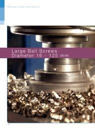 steinmeyer_catalogue_ballscrews_16-25 mm - Setec