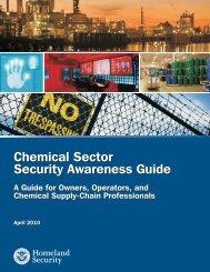 Chemical Sector Security Awareness Guide - SOCMA.com