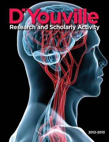 Research & Scholarly Activity (PDF) - D'Youville College