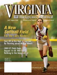 Journal of the Virginia Turfgrass Council July/August ... - The Paginator