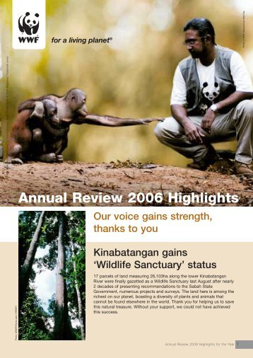 Annual Review 2006 Highlights - WWF Malaysia
