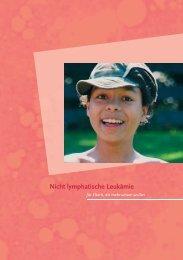 Nicht lymphatische Leukämie - Österreichische Kinder-Krebs-Hilfe