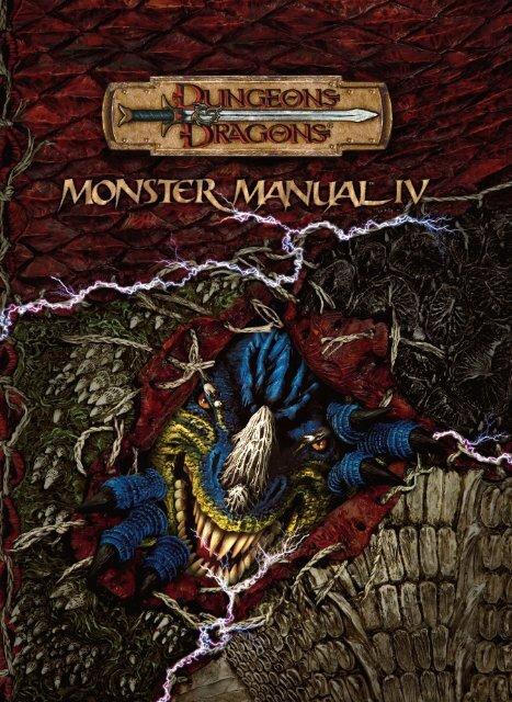 Monster manual iv. Pdf.