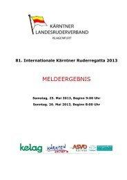 Meldeergebnis Klagenfurt