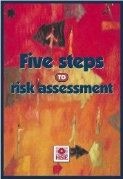 INDG163 - Five steps to risk assessment