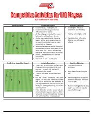 U10 Competitive Activities.pdf - The Balls Mills Soccer Club
