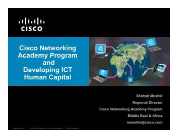 Cisco Networking Academy Program and Developing ICT Human ...