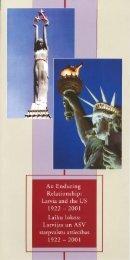 Laiku lokos: Latvijas un ASV starptvalstu attiecības 1922