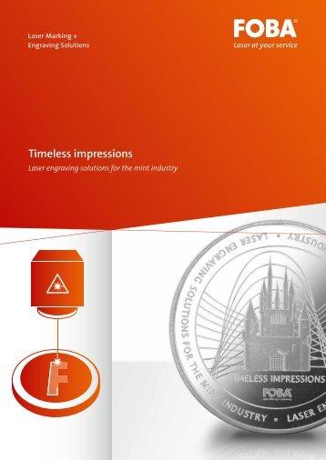 Timeless impressions - FOBA Laser Marking + Engraving | Alltec ...