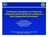 Full Mission Simulation of a Rotorcraft Unmanned Aerial ... - Acgsc.org
