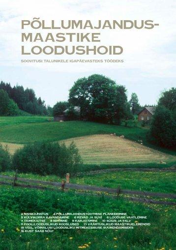 Põllumajandusmaastike loodushoid - Eesti ornitoloogiaühing