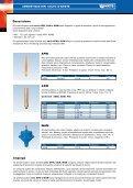 Ammortizzatori colpo d'ariete Serie APW, CAW ... - Watts Industries - Page 2