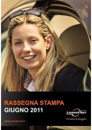 RASSEGNA STAMPA GIUGNO 2011 - LeasePlan