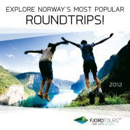 ROUNDTRIPS! - Fjord Tours