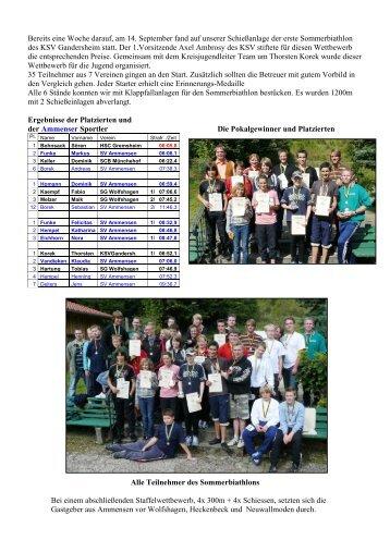 Bericht 2008 / 4 - SV Ammensen