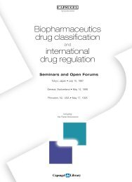 Biopharmaceutics drug classification - Capsugel