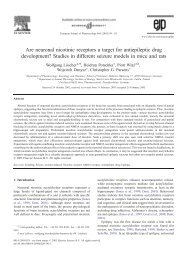 Are neuronal nicotinic receptors a target for antiepileptic drug ...