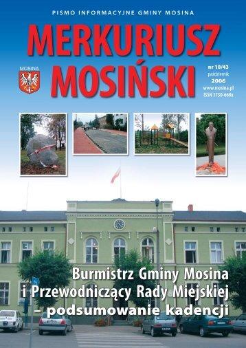 Wydanie Nr 09/43 (wrzesień 2006) - Mosina, Urząd Miasta