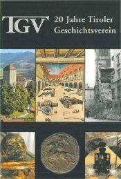 jESCHICHTSVEREIN - Tiroler Geschichtsverein