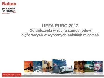 ograniczenia w ruchu - Raben Logistics Polska