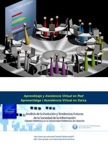 Aprendizaje y Asistencia Virtual en Red Aprenentatge ... - TALP - UPC