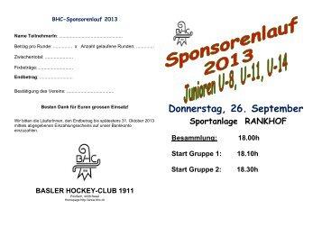 Infos und Sponsorenliste - Basler HC