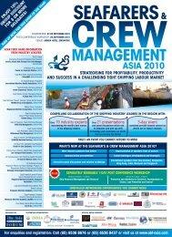 SeafarerS& crew management aSia 2010 - SCMA
