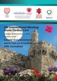 7th International Meeting Acute Cardiac Care Second ...