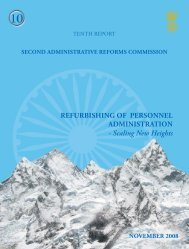 Personnel Administration - Department of Administrative Reforms ...