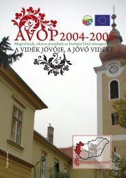 AVOP Nyugat-Dunántúl - Magyar Nemzeti Vidéki Hálózat