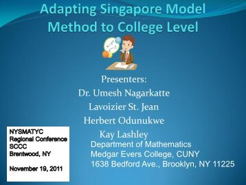 view the Singapore model method - Home Page | TOC Theory of ...