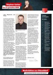 Hz+Nachrichten aus Düsseldorf 09-2013 Ausgabe ... - Gatter, Stephan