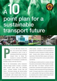 Ten Point Principles Summary - Rail, Tram and Bus Union of NSW