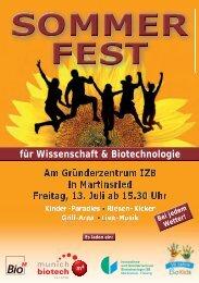 Sommerfest Flyer.indd - Bio M