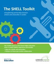 The SHELL Toolkit - London Higher