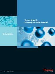 Thermo Scientific HeavyPeptide AQUA Standards
