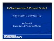 UV Measurement & Process Control
