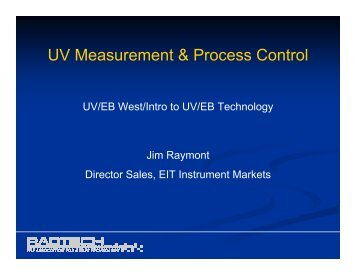 UV Measurement & Process Control