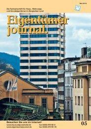 Ausgabe 05/2013 - Hausundgrundwtal.de