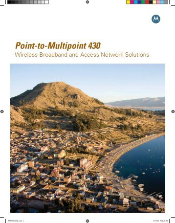 Point-to-Multipoint 430 Wireless Broadband and Access Network ...