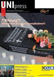 ÖH Innsbruck - UNIpress