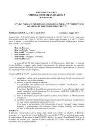 regione liguria azienda sanitaria locale n. 3 - ASL n.3 Genovese