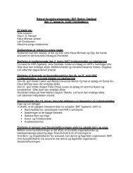 Referat fra bestyrelsesmøde i BKF Region Sjælland den 17. januar ...