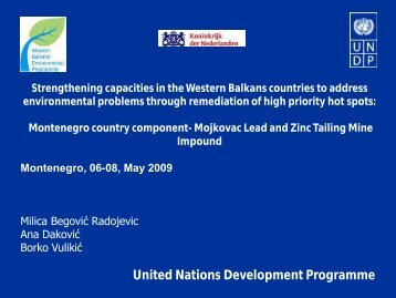 Montenegro 65.81 Kb - Western Balkans Environment Programe