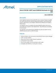 USB DFU Bootloader Datasheet - Atmel Corporation