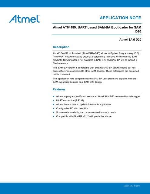 Atmel-42238-UART-based-SAM-BA-Bootloader-for-SAM-D20_AP